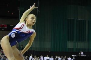 Morgane Detrez  -tournoi gymnix au Canada