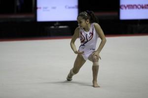 Oreane Lechenault -tournoi gymnix au Canada