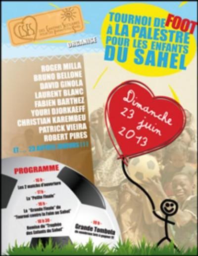 Tournoi de Foot pour les enfants du Sahel