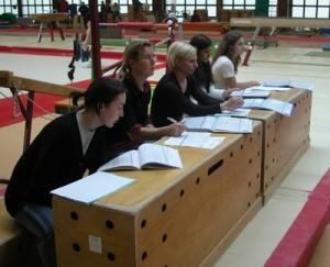 gymnastique -jugement de la Gymnastique Artistique Féminine
