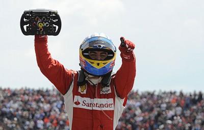 Victoire de Fernando  Alonso