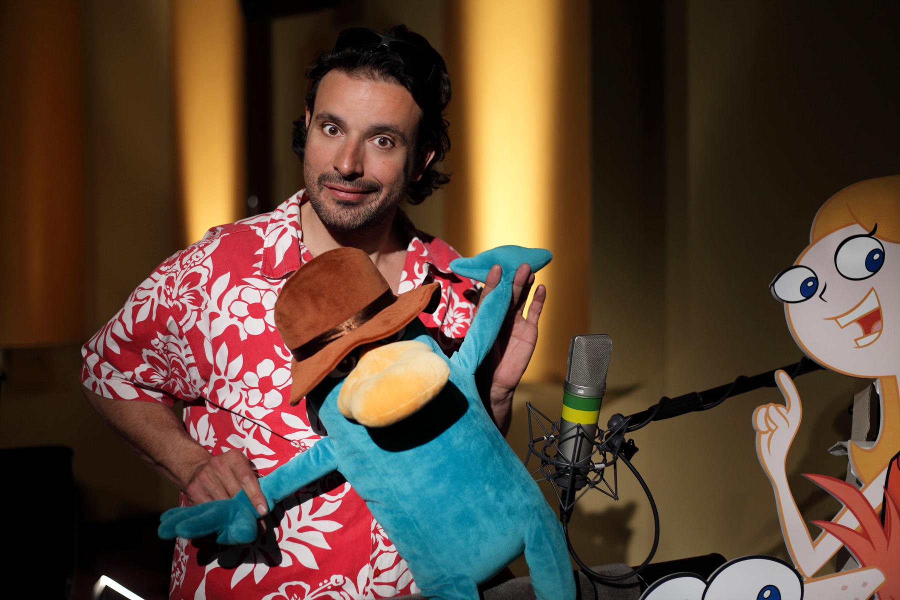Bruno et les animaux, une longue histoire d'amour. Ici avec Perry l'ornithorynque !