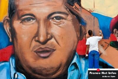PRESIDENT HUGO CHÁVEZ EN CARACAS
