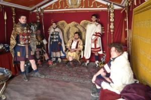 hadrien et ses légionnaires
