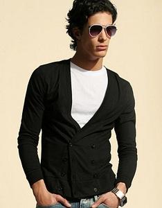 spontini black-cardigan