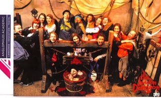 Discover London au London Dungeon