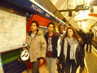 Discover London - dans le métro londonien