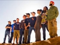 Groundation,meilleur groupe reggae,sur scène à Nice