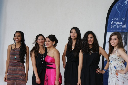 Défilé de mode Inspiraction contre la mucoviscidose Grégory Lemarchal