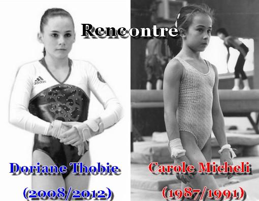 La Gymnastique du prestige à l'oubli -Doriane Thobie  Carole Micheli
