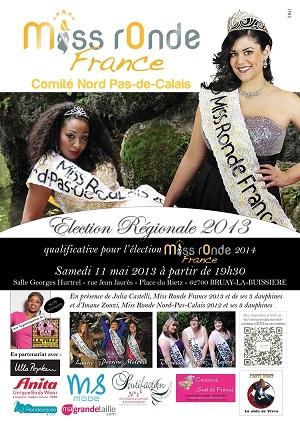 Miss ronde Nord Pas de Calais 2013