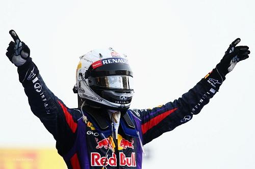 Sébastien Vettel sur Red Bull Racing-Renault.