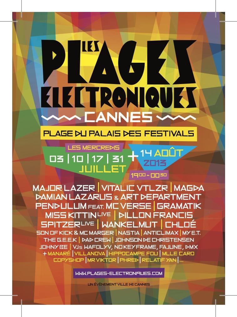 Plages électroniques 2013: Une édition explosive !
