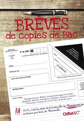 Brèves de Copies de Bac, de Sophie le Flour