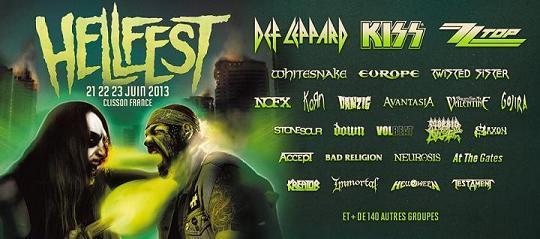 Affiche Hellfest 2013
