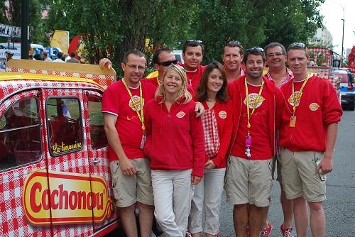 L'équipe Cochonou-Tour de France 2013