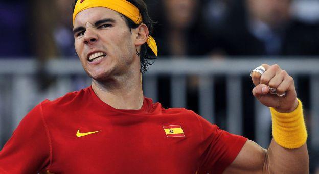 Nadal bat Federer