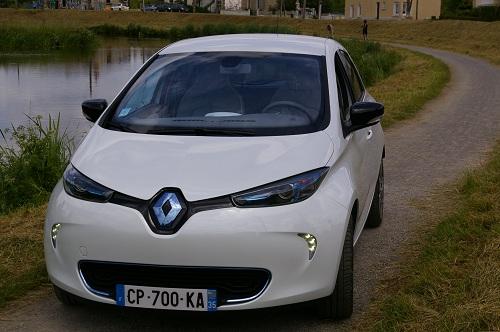Renault Zoe-voiture electrique