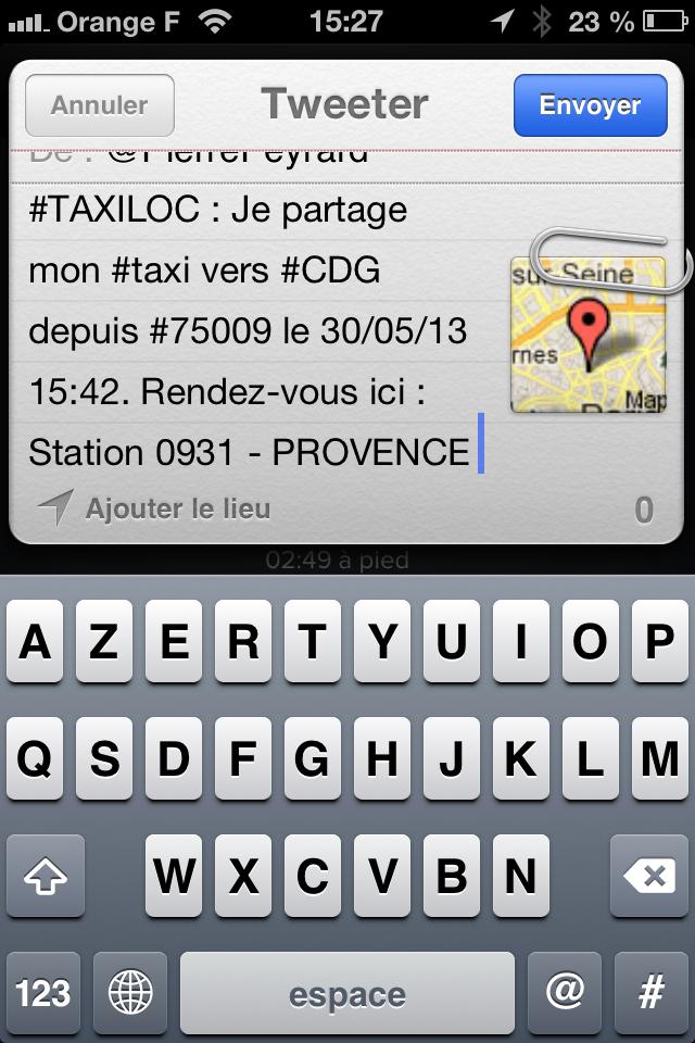 TAXILOC - visuel partager un taxi - tweeter - IMG_1672