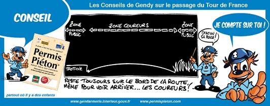 Les conseil de Gendy sur le Tour de France - 1