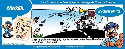 Les conseil de Gendy sur le Tour de France - 2