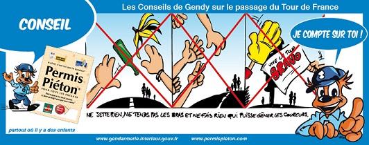 Les conseil de Gendy sur le Tour de France - 3