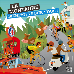 Les montagnes françaises  100eme Tour de France