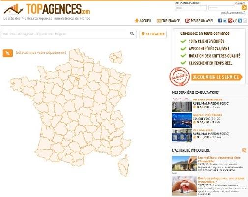 Site de topagences.com