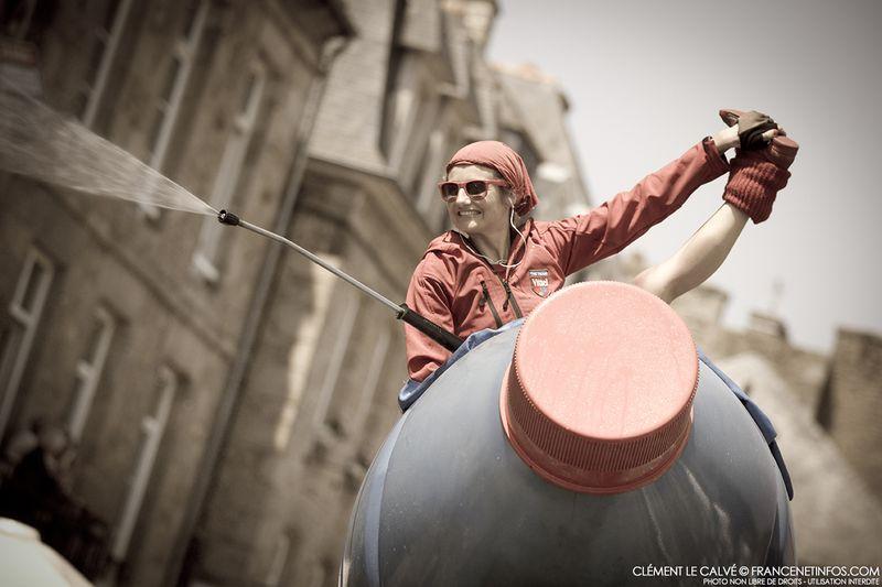Vittel célèbre les noces d'eau sur le Tour 2013