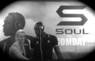 Usain Bolt, disc jokey de Soul, Paris