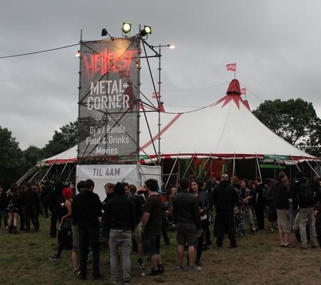 hellfest : metal corner