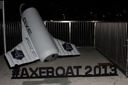 Axe Boat Tour 2013 Cannes
