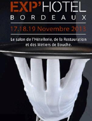 Exp'Hôtel Bordeaux du 17 au 19 novembre 2013.