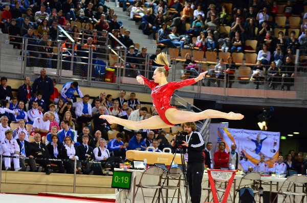 Internationaux de France de Gym 2013-Marine Brevet sol
