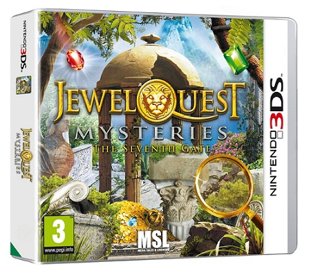 Jewel Quest Mysteries The Seventh Gate sur 3DS