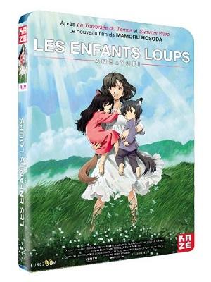 Les Enfants Loups, en Blu-Ray et DVD chez Kazé