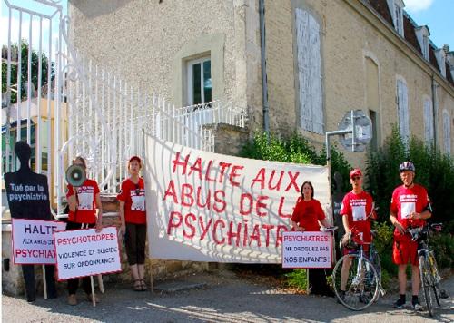 Raid contre les abus psychiatriques