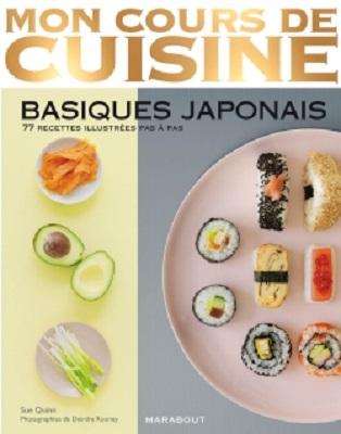 Mon cours de cuisine basiques japonais aux ditions - Mon cours de cuisine marabout ...