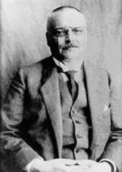 Dr Aloïs Alzheimer. 1864 - 1915. Neuropsychiatre Allemand.