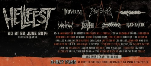 Hellfest 2014 annonce