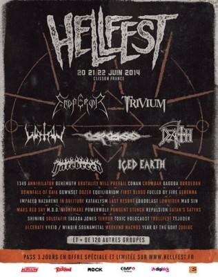 Hellfest 2014 première annonce