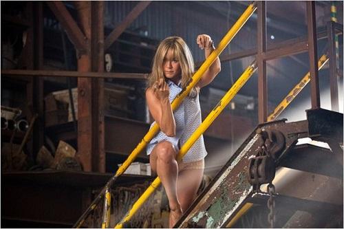Jennifer Aniston dans le film Les Miller  Une Famille en Herbe