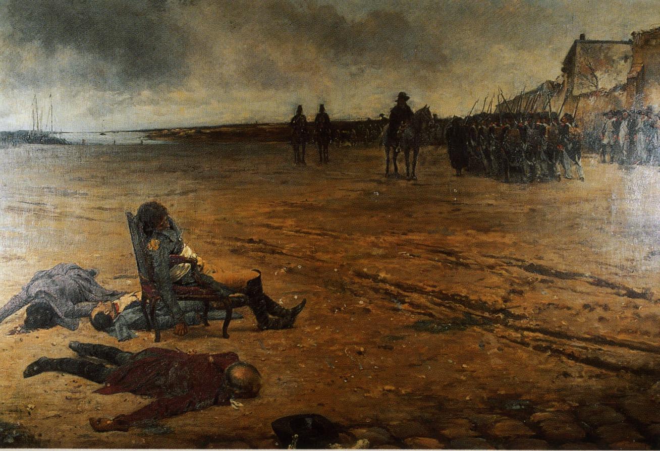 Mort du général D'Elbée, peinture de Julien Le Blant.