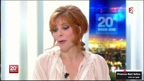 MyleneFarmer JT  France2