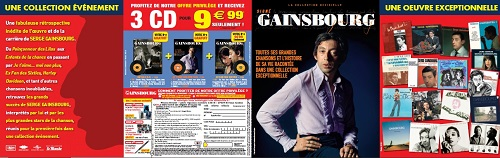 Serge Gainsbourg  La collection hommage exceptionnelle