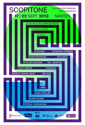 Scopitone: Cultures électroniques et arts numériques