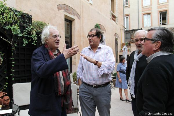 Bertrand Tavernier, Bruno Raffaelli, Frédéric Bourboulon