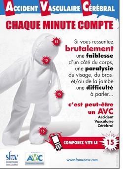 Journée Mondiale de l'Accident Vasculaire Cérébral  le Mardi 29 octobre 2013
