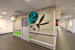 Un duo d'artistes, vient d'enchanter  l'hôpital pédiatrique de la Timone à Marseille