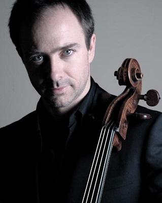 """Henri Demarquette , violoncelliste, invité du festival """"Pornic classic 2013"""" pour donner un concert et une classe de maître"""